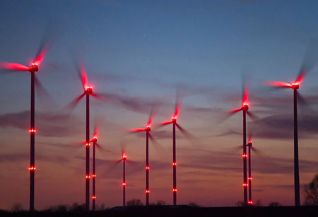 How AI Enhances Wind Mill Safety